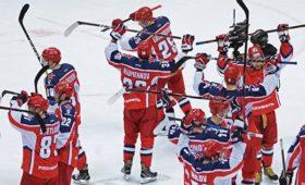 ЦСКА всухую победил минское «Динамо» вматче КХЛ