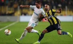 УЕФА открыл дело поитогам матча между «Зенитом» и«Фенербахче» вЛиге Европы