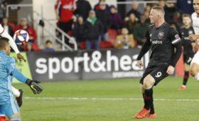 Футболист Руни отметился хет-триком вматче MLS