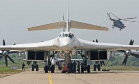 Минобороны ответило на сообщения о перехвате российских Ту-160