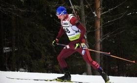 Логинов победил вгонке преследования начемпионате России побиатлону