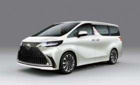 Новый минивэн Lexus