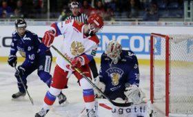 Сборная России потерпела вторую неудачу наЕвротуре, проиграв Финляндии