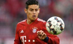 В«Баварии» подтвердили, чтоХамес Родригес покинет команду