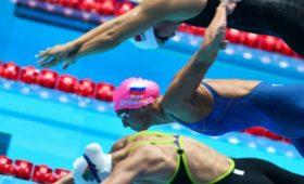Российская пловчиха завоевала серебро наКубке Мира