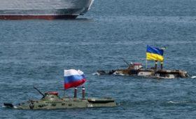 На Украине предложили принудительно установить морскую границу с Россией