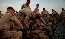 США начали переброску более 4 тыс. военных на Ближний Восток